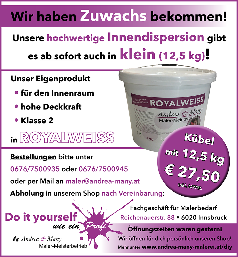 Innendispersion Royalweiss 12,5kg