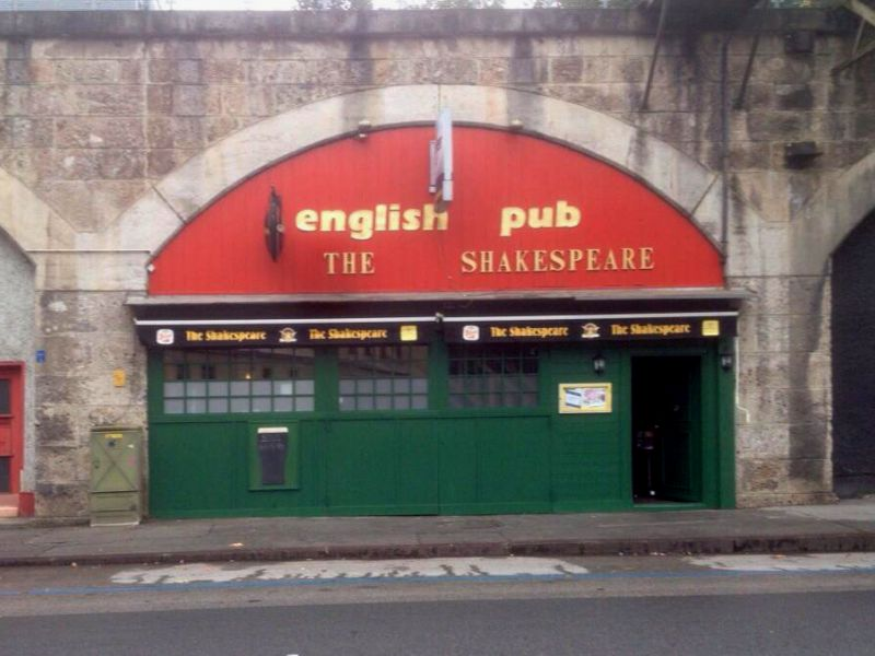 English Pub nachher